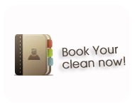 Book now cleaning services