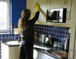 Domestic cleaning - kitchen cleaning in London